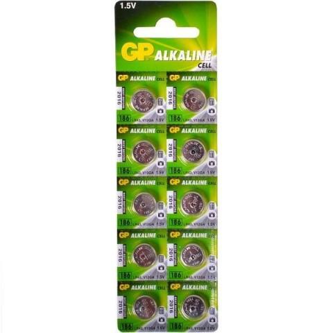 Baterie buton alcalin AG12 11.6X4.2 GP
