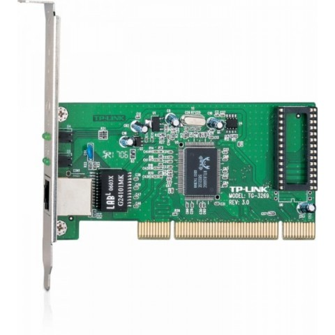 Placa de retea TP-Link, PCI, 32bit, Gigabit, Realtek RTL8169SC, Auto MDI/MDIX