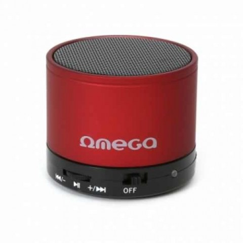 Omega bluetooth speaker V3.0 OG47 red