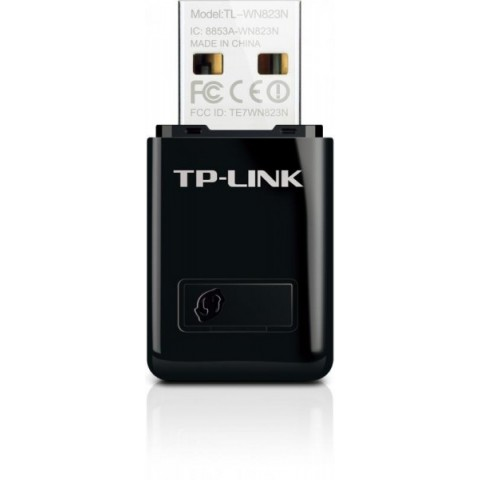 Adaptor wireless TP-Link, N300, USB2.0, Realtek, 2T2R, MINI size
