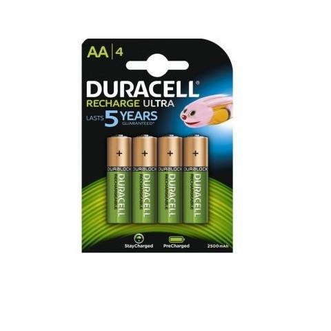 Acumulatori Duracell Duralock AA 2500 mAh, preincarcati