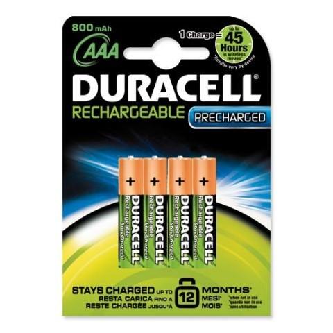 Acumulatori Duracell AAAK4, R3, 800mAh, 4 buc