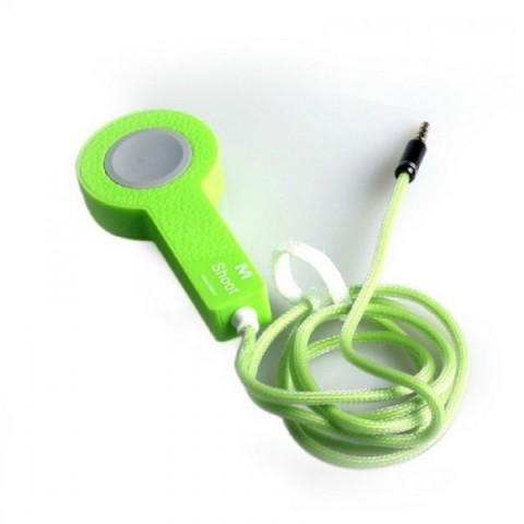 Buton comanda cu cablu jack 1m pentru android si iPhone