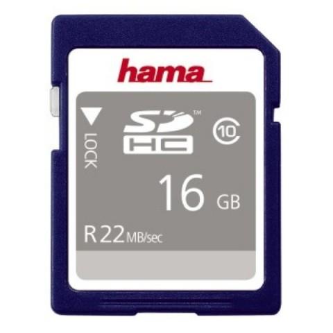 Card SDHC Hama 16GH clasa 10