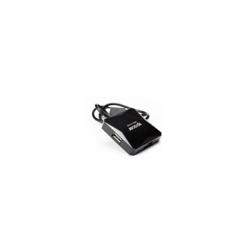 HUB USB 2.0 extern, 4xUSB, Spacer  SPH-316