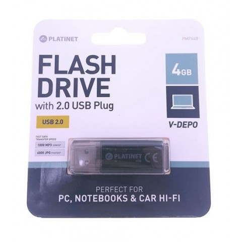 Memorie USB Platinet 4GB V-Depo, USB 2.0