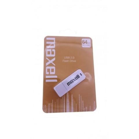 Memorie USB Flash Drive Maxell 64Gb 2.0 white