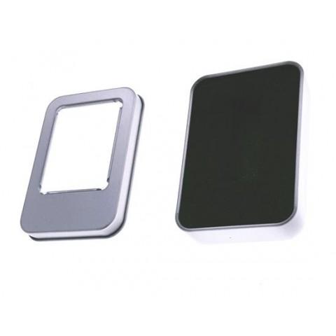 Carcasa usb metalica mica cu fereastra 87x60x18 - Box-118sw