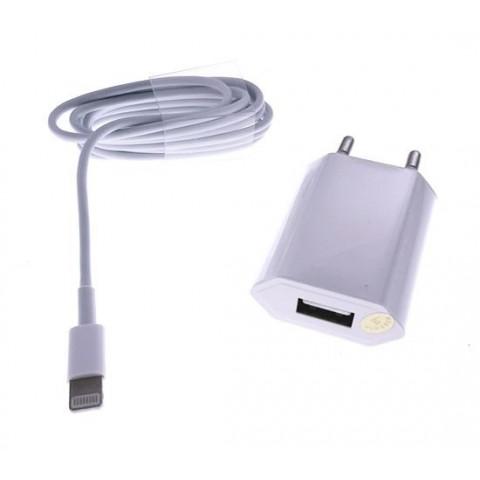 Elworld-Incarcator retea pentru telefon lightning USB 1A