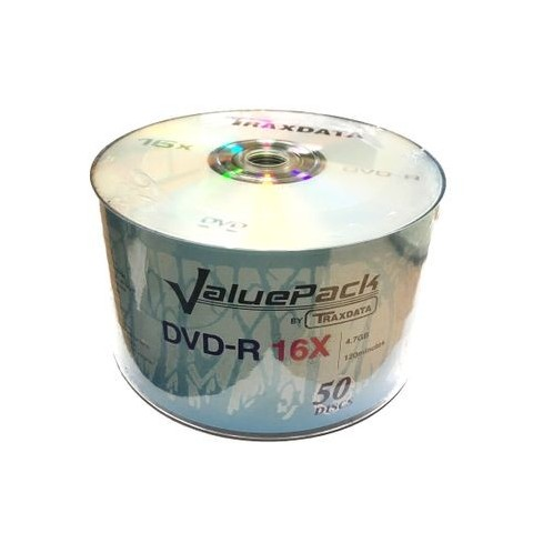 DVD-R Traxdata 16X shrink 50