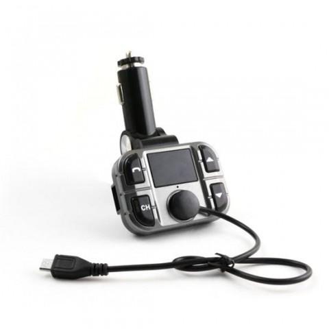 Modulator FM Omega OUTF28,microSD,USB,Bluetooth