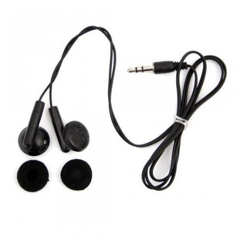 Casti audio in-ear Fiesta XT6163,negre