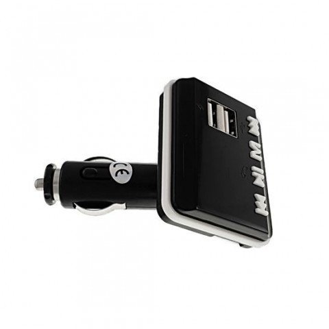 Modulator FM cu bluetooth,player USB si microSD,cu incarcare USB