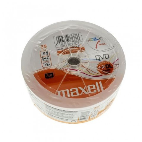 DVD+R DL Maxell 8.5GB 8X Double Layer printabil