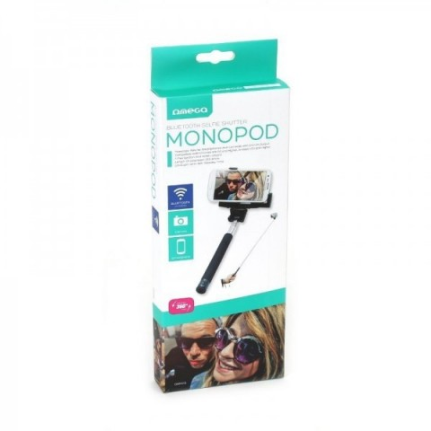 Monopod Selfie Stick Bluetooth negru OMEGA