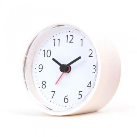 Ceas Platinet cu alarma -Sunday/White (8x8x4 cm)