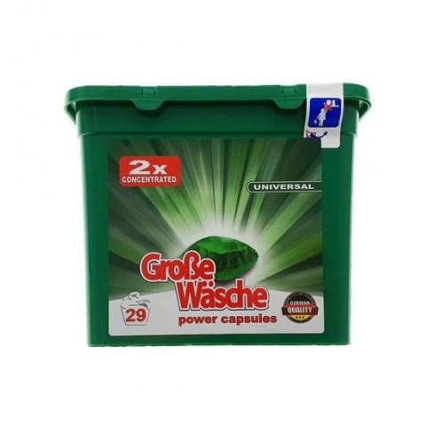 Detergent Capsule Grose Wasche,Universal 29 spalari, 24g