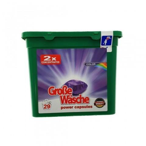 Detergent Capsule Grose Wasche,Color 29 spalari, 24g