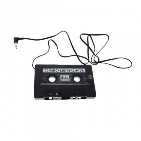 Adaptor caseta audio cu AUX jack 3.5mm,portabil,negru