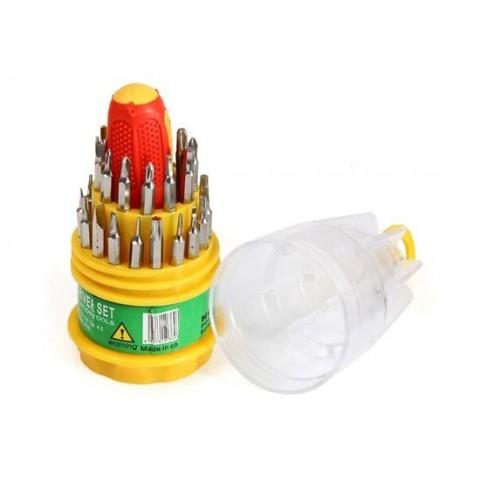 Set de 30 șurubelnițe JLY-6036 anti-statice pentru repararea produselor electronice