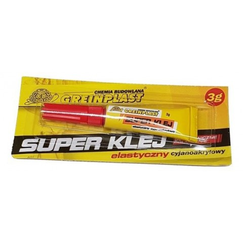 Super Glue 3G Tube Greinplast 12 buc/folie