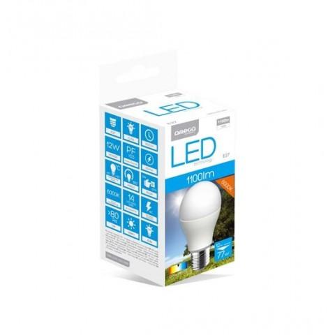 OMEGA LED BULB ECO 6000K E27 12W[42581]