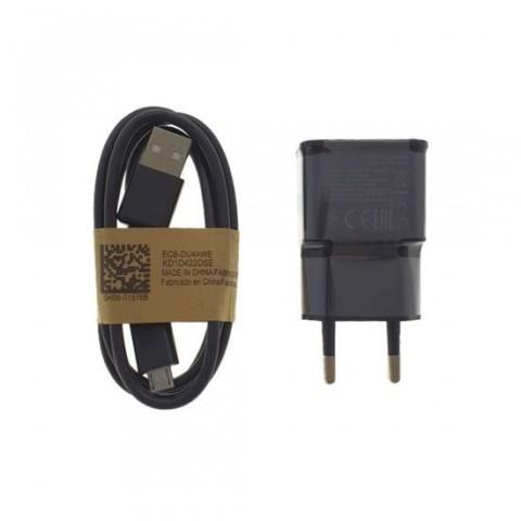 Încărcător de retea,cu cablu de alimentare microUSB,5V 2A,negru