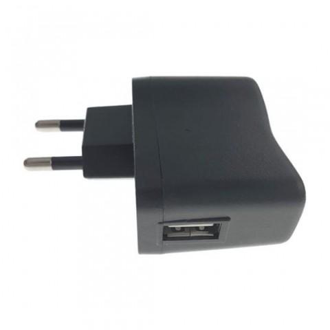 Incarcator USB KY-728,la priza retea EU,o iesire USB 5V 1A,negru