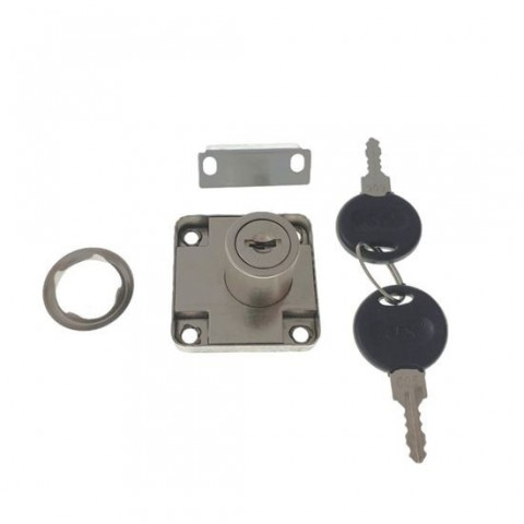Set încuietoare FAM-65366,pentru mobilier,cu 2 chei
