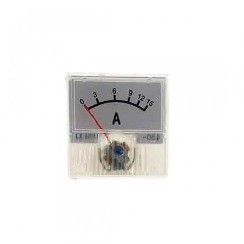Indicator analogic,ampermetru,pentru curent,15A