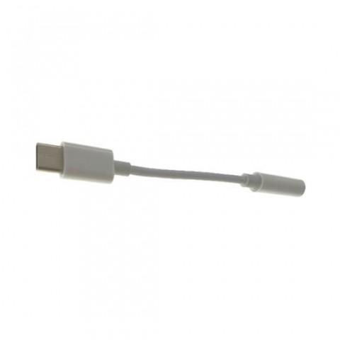 Cablu adaptor Tip C la jack 3.5mm,AC10TC,alb