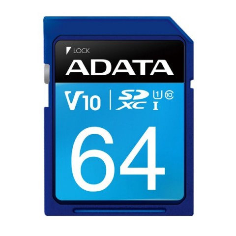 Card de memorie SD ADATA SDXC 64GB (Clasa 10)