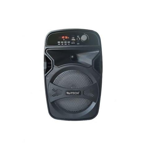 Boxa bluetooth portabila, 15W cu MP3 player, Radio FM, Karaoke, TWS, 33 cm