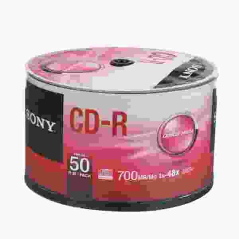 CDR Sony 48X shrink 50