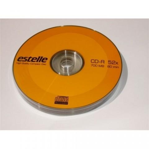 CD-R Estelle 52X shrink 10