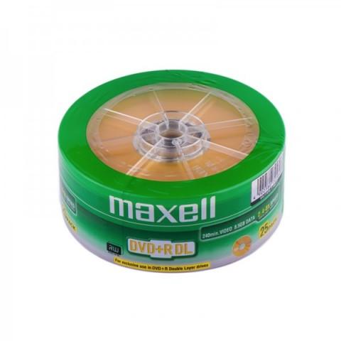 DVD+RDL Maxell shrink 25