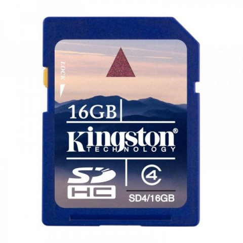 Secure Digital Card Kingston 16GB SDHC, Clasa 4