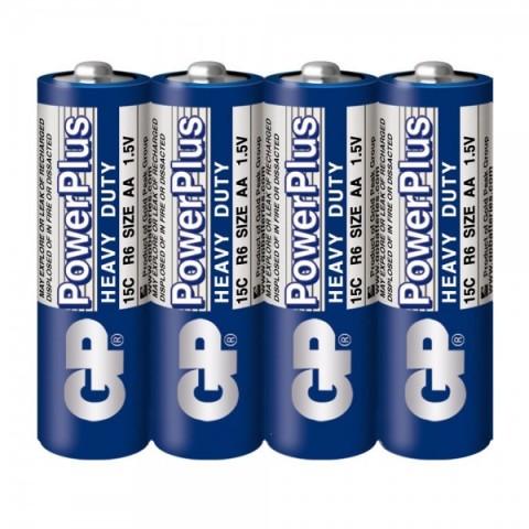 Baterie zinc AA (R6) infoliat Powerplus GP