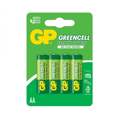 Baterie R6 (AA) 4 buc/blister Greencell GP