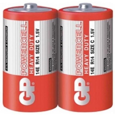 Baterie zinc R14 (C) 2 buc/folie Powercell GP