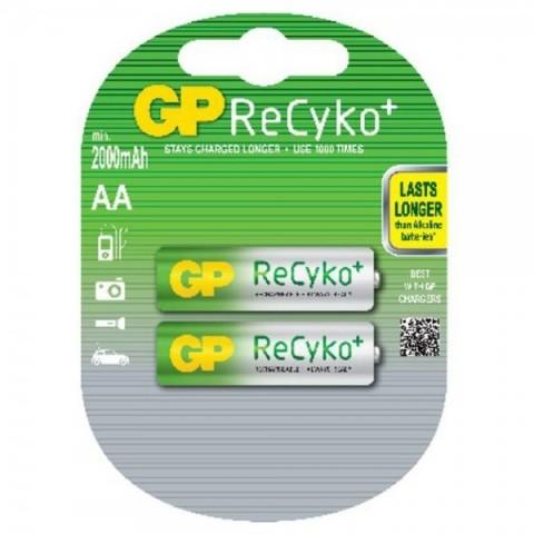 Acumulator AA (R6) NiMH Recyko 2000mAh 2 buc/blister GP