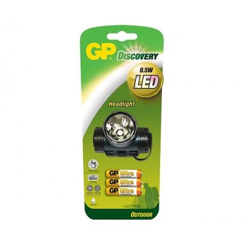 Lanterna DISCOVERY 3XR3 ULTRAALCALINE GP