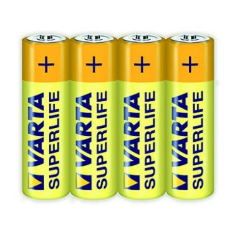 Set 4 baterii Superlife R6 zinc-carbon 2006