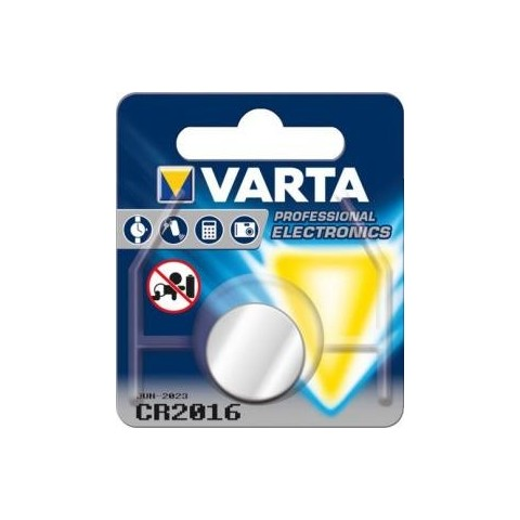 Baterie buton cu litiu CR2016 3V Varta