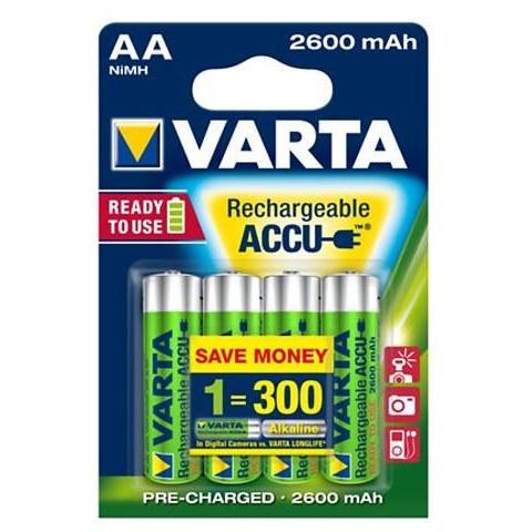 Acumulator R6 (AA) 2600mAh Ready2Use 4 buc
