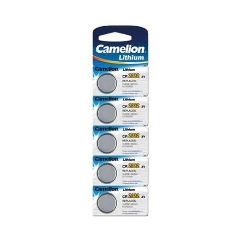 Baterii Camelion CR2032, blister de 5 buc, CR Lithium