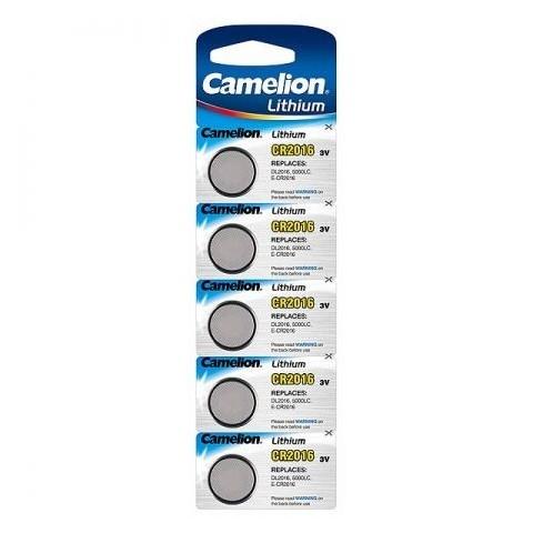 Baterii Camelion CR2016, blister de 5 buc, CR Lithium