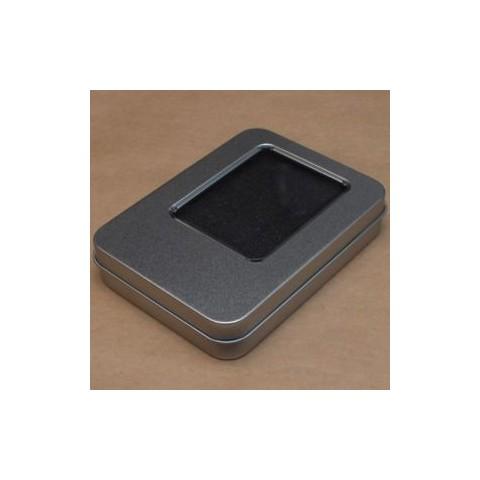 Cutie din metal cu capac pentru memorie USB