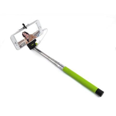 Selfie stick monopod baston telescopic cu buton pe maner