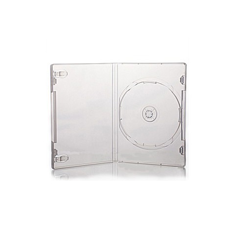 Carcasa DVD transparenta